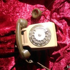 Teléfonos: PRECIOSO TELÉFONO FRANCE-TELECOM CON AURICULAR SUPLETORIO FUNCIONANDO POR SÓLO VEINTICINCO EUROS. Lote 189095132