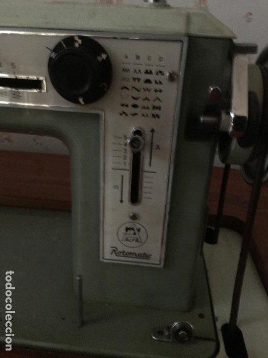 Antigüedades: maquina de coser ALFA de los años 60-70 - Foto 7 - 58599694