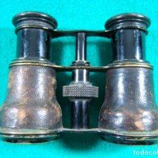 Antigüedades: PRISMATICOS BINOCULARES IMPERTINENTES-SIN MARCA-FUNCIONA PERFECTO-11X9X4 CM.-PRINCIPIOS SIGLO XX. . Lote 189276797