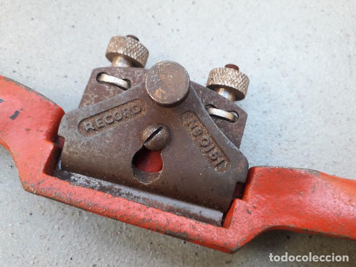Antigüedades: bastren record nº 0151 (reverso marca nº A151) cuchilla 5cm aprox, largo 25cm aprox - Foto 2 - 189359345