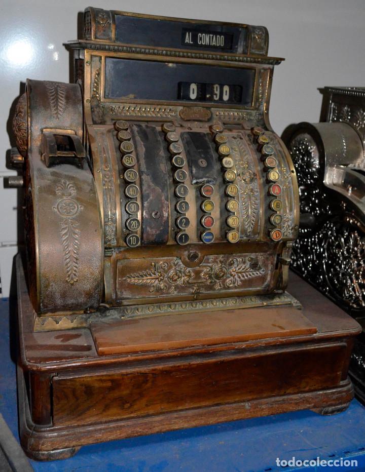 ANTIGUA CAJA/MÁQUINA REGISTRADORA. COMPLETA. FUNCIONANDO. RECOGIDA LOCAL (Antigüedades - Técnicas - Aparatos de Cálculo - Cajas Registradoras Antiguas)