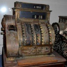Antigüedades: ANTIGUA CAJA/MÁQUINA REGISTRADORA. COMPLETA. FUNCIONANDO. RECOGIDA LOCAL. Lote 189429016