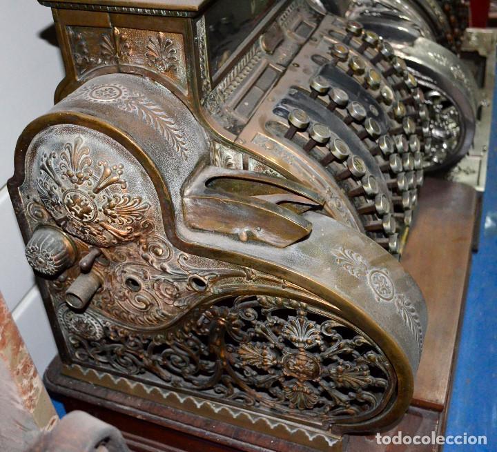 Antigüedades: Antigua caja/máquina registradora. Completa. Funcionando. Recogida local - Foto 5 - 189429016