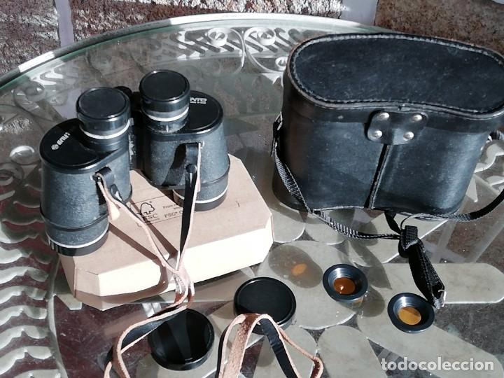 Antigüedades: Prismáticos Tento 7X35 - URSS - con estuche y accesorios - Foto 2 - 189432961