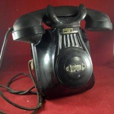 Teléfonos: ANTIGUO TELÉFONO ESPAÑOL DE PARED, BAQUELITA, DE STANDARD ELÉCTRICA, PARA LA CTNE. Lote 202953098