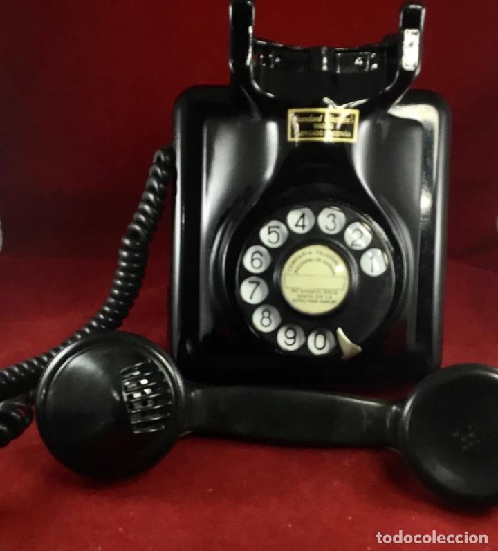 Teléfonos: Antiguo teléfono español, 5519A, de Standard Eléctrica, para la CTNE - Foto 6 - 189333631