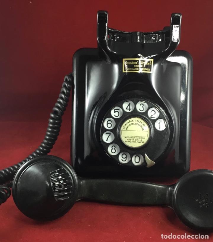 Teléfonos: Antiguo teléfono español, 5519A, de Standard Eléctrica, para la CTNE - Foto 7 - 189333631