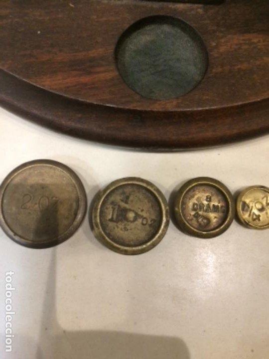 Antigüedades: Centenaria balanza pesacartas original - Foto 2 - 189499903