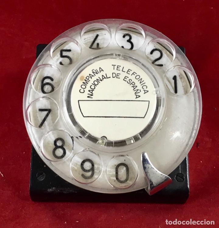 Teléfonos: Antiguo dial, para centralitas, mesa pruebas, etc., de Standard Eléctrica y la CTNE - Foto 4 - 189584025