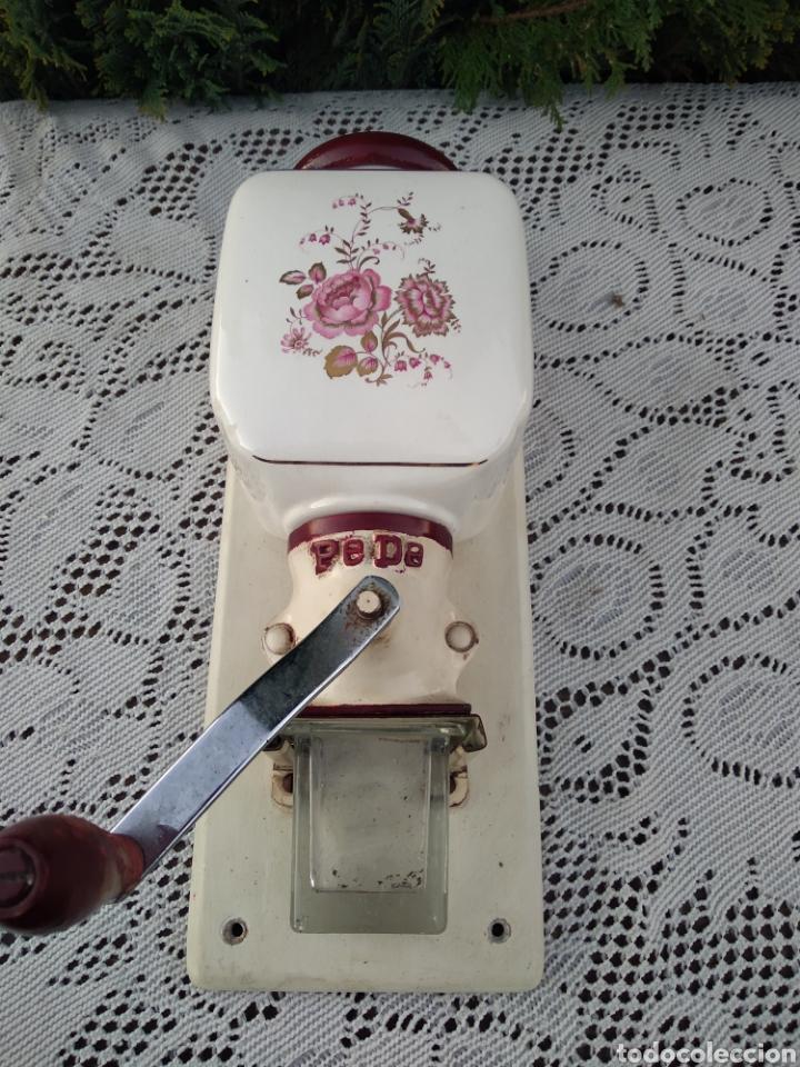 Antigüedades: Molinillo de café de pared marca pede - Foto 2 - 189617882