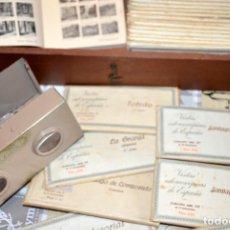 Antigüedades: VISOR ESTEREOSCÓPICO RELLEV. ESTEREOSCOPIA ESPAÑA. + DE 550 VISTAS!. Lote 189626176