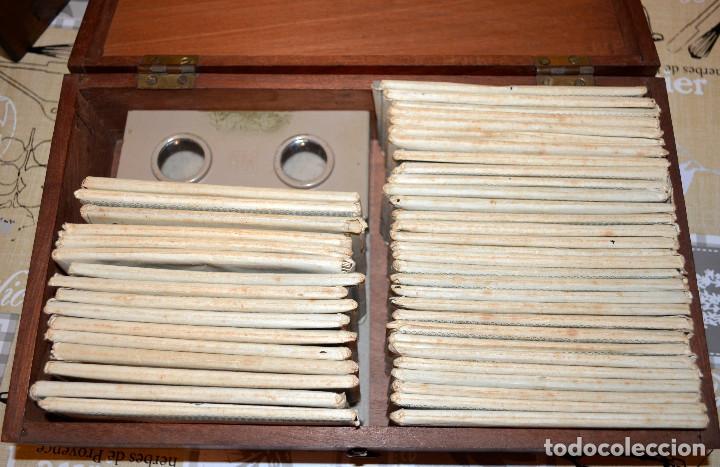 Antigüedades: Visor estereoscópico RELLEV. Estereoscopia España. + de 550 vistas! - Foto 4 - 189626176