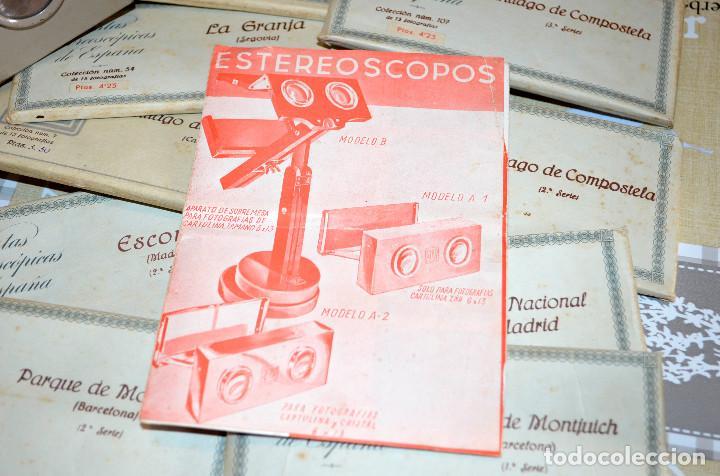 Antigüedades: Visor estereoscópico RELLEV. Estereoscopia España. + de 550 vistas! - Foto 7 - 189626176