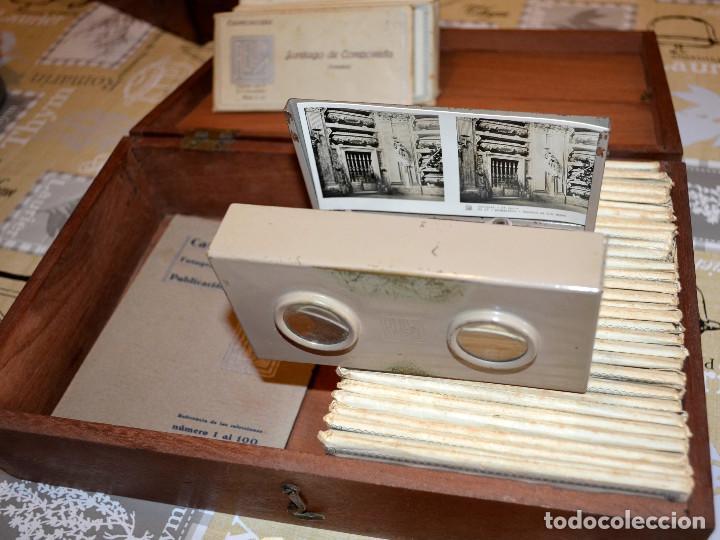 Antigüedades: Visor estereoscópico RELLEV. Estereoscopia España. + de 550 vistas! - Foto 10 - 189626176