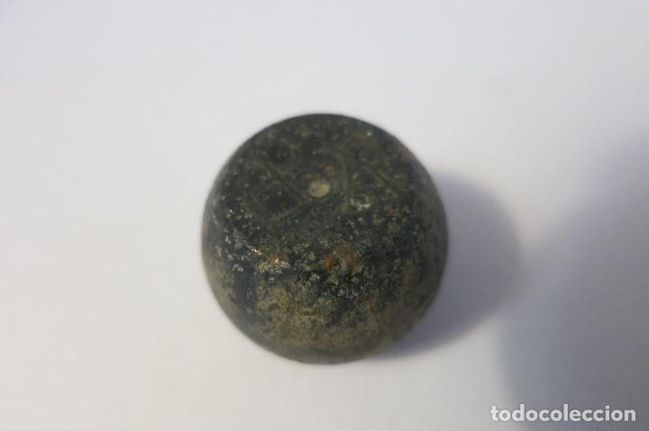 Antigüedades: 2 ponderales exaguias Sextans y 2 dracmas - Foto 6 - 189649911