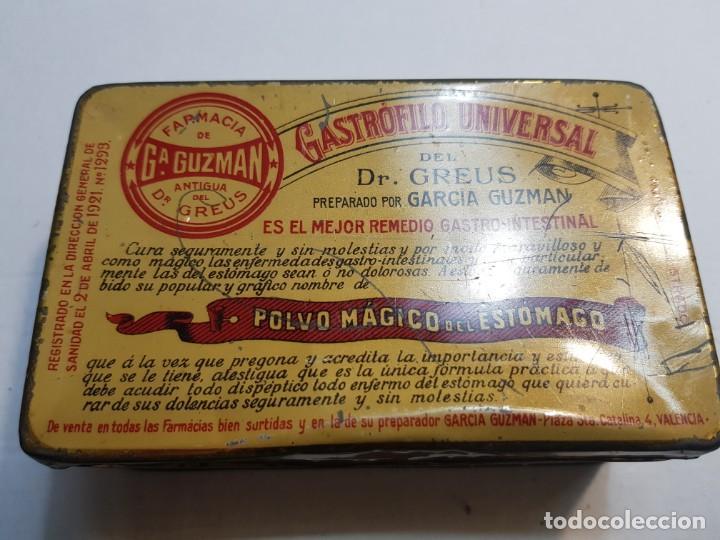 Antigüedades: Cajas Farmacia Gastrofilo Universal distintas 1 extremadamente rara primera generación - Foto 3 - 240345560