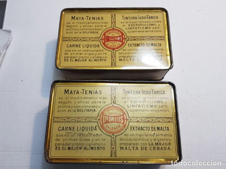 Antigüedades: Cajas Farmacia Gastrofilo Universal distintas 1 extremadamente rara primera generación - Foto 5 - 240345560