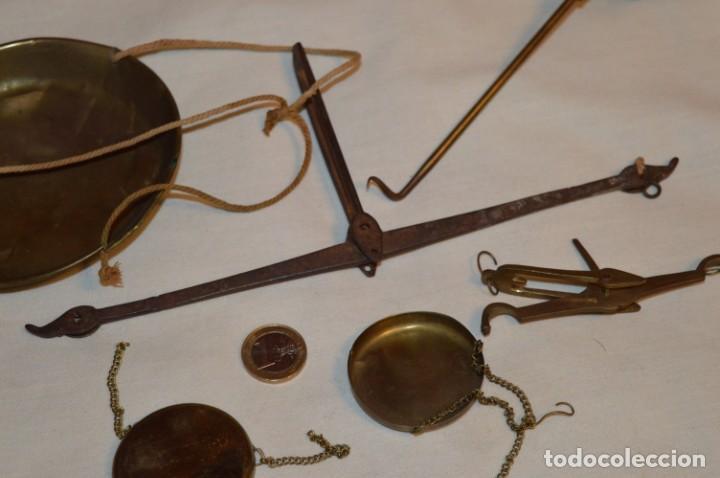 Antigüedades: ANTIGUAS BALANZAS / PESO en MINIATURA - EN METAL - UNA JOYA - PRECIOSAS - ¡Mira fotos y detalles! - Foto 3 - 189698368