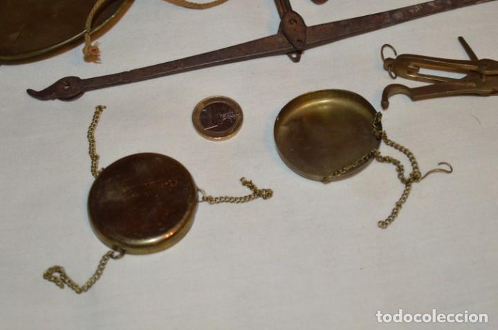 Antigüedades: ANTIGUAS BALANZAS / PESO en MINIATURA - EN METAL - UNA JOYA - PRECIOSAS - ¡Mira fotos y detalles! - Foto 4 - 189698368