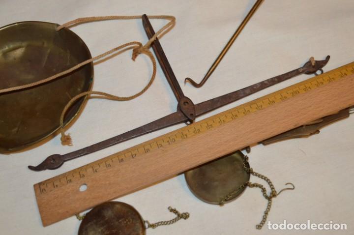 Antigüedades: ANTIGUAS BALANZAS / PESO en MINIATURA - EN METAL - UNA JOYA - PRECIOSAS - ¡Mira fotos y detalles! - Foto 7 - 189698368