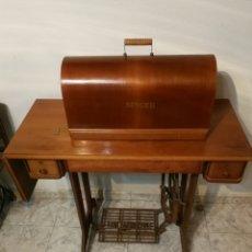 Antigüedades: MAQUINA COSER SINGER HEXAGON. Lote 189718782