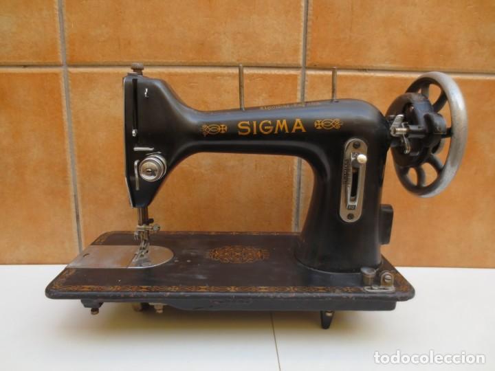 MAQUINA DE COSER SIGMA - MODELO A - ESTARTA Y ECENARRO S.A - ELGÓIBAR ESPAÑA . (Antigüedades - Técnicas - Máquinas de Coser Antiguas - Sigma)