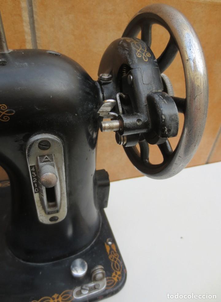 Antigüedades: MAQUINA DE COSER SIGMA - MODELO A - Estarta y Ecenarro S.A - Elgóibar España . - Foto 6 - 189726388