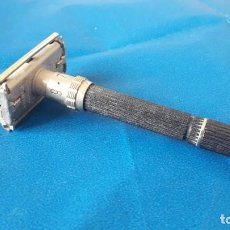Antigüedades: MAQUINILLA DE AFEITAR GILLETTE SAFETY RAZOR. BOSTON -MADE IN USA. Lote 189778980