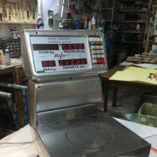 Antigüedades: BALANZA AUTOMATICA ELECTRONICA MACH 155 - NO FUNCIONA - 1978 - PARA DECORACION. Lote 189814130