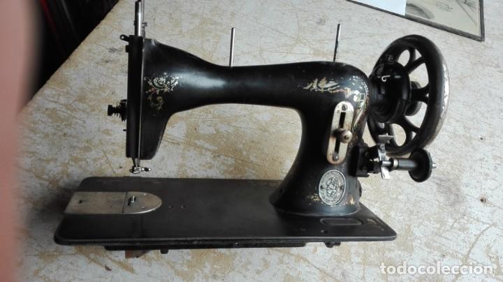 MÁQUINA DE COSER ANTIGUA WERTHEIM (Antigüedades - Técnicas - Máquinas de Coser Antiguas - Wertheim )