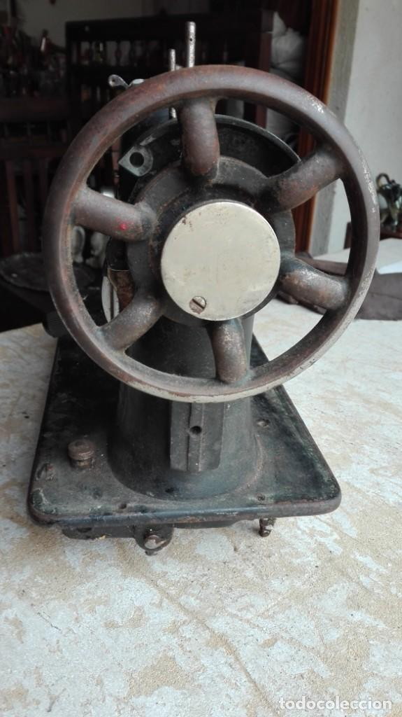 Antigüedades: Máquina de coser antigua Sigma - Foto 3 - 189817266