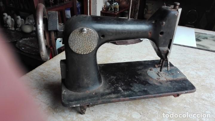 Antigüedades: Máquina de coser antigua Sigma - Foto 4 - 189817266