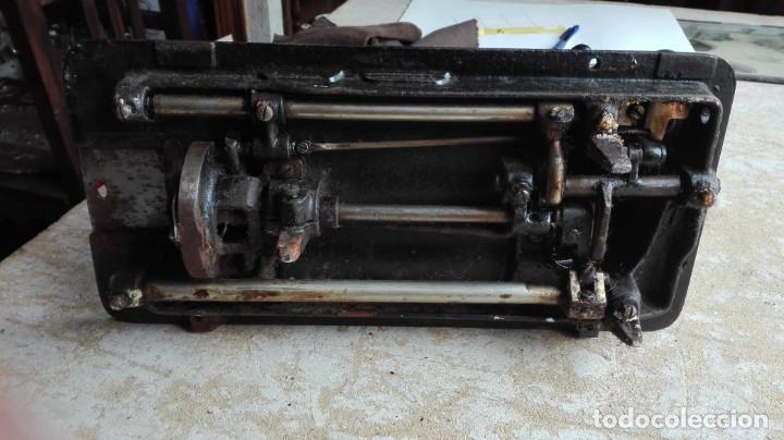 Antigüedades: Máquina de coser antigua Sigma - Foto 7 - 189817266