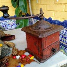 Antigüedades: MOLINILLO DE CAFÉ ANTIGUO ELMA. Lote 189968458