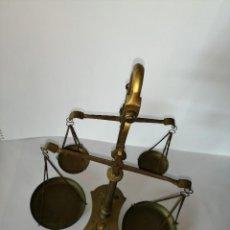 Antigüedades: ANTIGUA BALANZA DOBLE. Lote 190069151