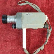Antigüedades: CAMARA DE FILMAR LEITZ. MODELO LEICINA. 8 MM. ALEMANIA. CIRCA 1970. . Lote 190117266