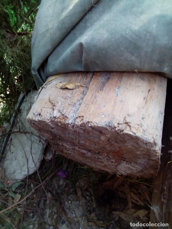 Antigüedades: dos vigas de pino rija en buen estado - Foto 2 - 190138336