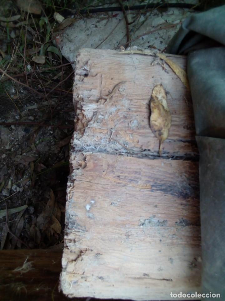 Antigüedades: dos vigas de pino rija en buen estado - Foto 5 - 190138336