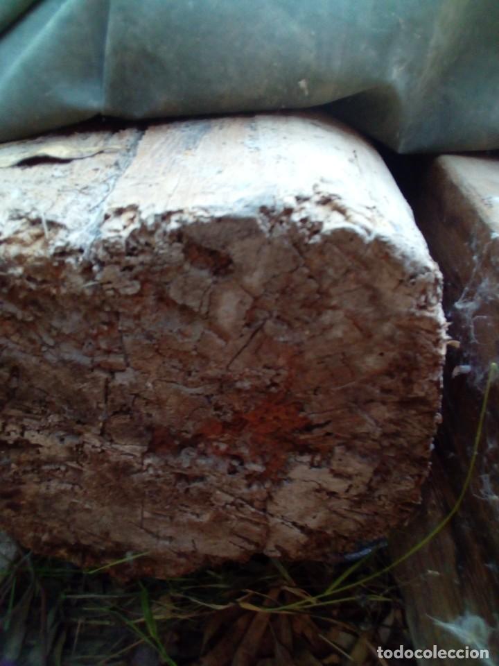 Antigüedades: dos vigas de pino rija en buen estado - Foto 6 - 190138336