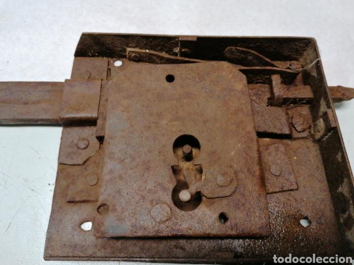 Antigüedades: Cerradura portón - Foto 3 - 190290815