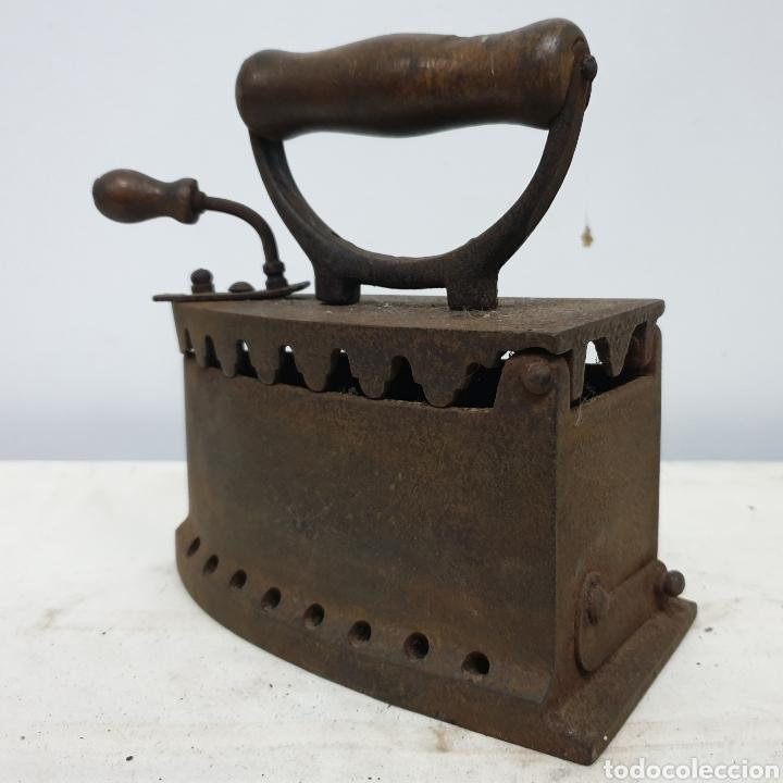 Antigüedades: Plancha de carbón - Foto 2 - 190292043