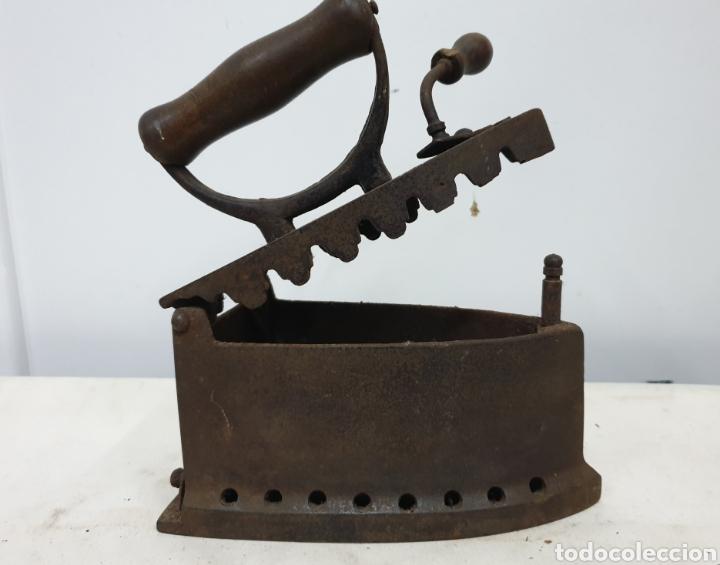 Antigüedades: Plancha de carbón - Foto 7 - 190292043