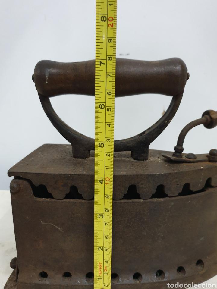 Antigüedades: Plancha de carbón - Foto 8 - 190292043