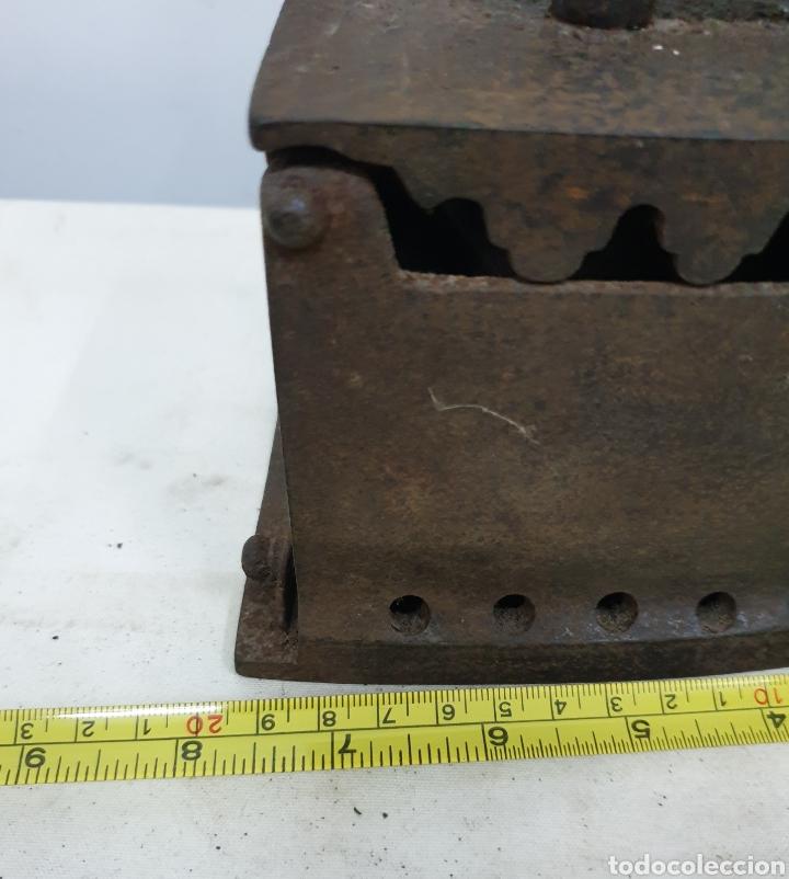 Antigüedades: Plancha de carbón - Foto 9 - 190292043
