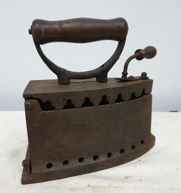 Antigüedades: Plancha de carbón - Foto 12 - 190292043