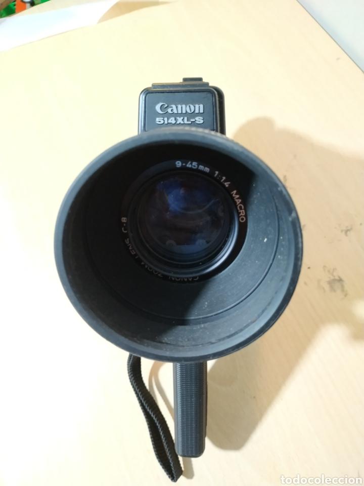 Antigüedades: Camara Super 8 Canon Canosound 514XL-S - años 70/80 - Foto 6 - 190317396