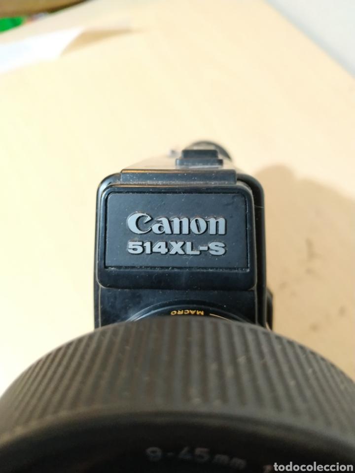 Antigüedades: Camara Super 8 Canon Canosound 514XL-S - años 70/80 - Foto 8 - 190317396