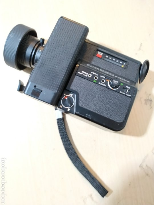 Antigüedades: Camara Super 8 Canon Canosound 514XL-S - años 70/80 - Foto 10 - 190317396