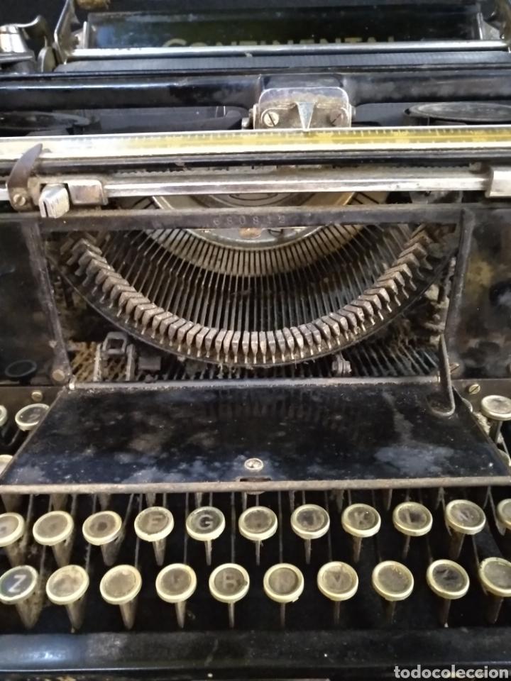 Antigüedades: Maquina de escribir Continental. Funciona - Foto 3 - 190324280