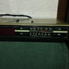 Antigüedades: ANTIGUO RADIODESPERTADOR MARCA OSKAR. Lote 190367278